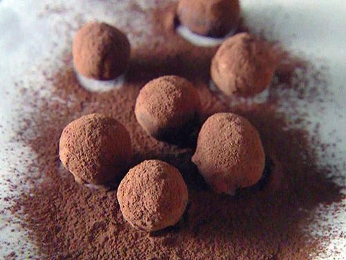 طرز تهیه ترافل شکلات