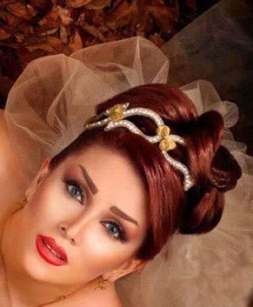 زیباترین مدل های میکاپ وشینیون عروس