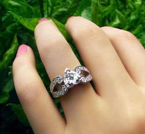 عکس هایی از مدل حلقه های عاشقانه طرح قلب