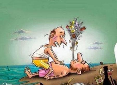 کاریکاتورهای مفهومی