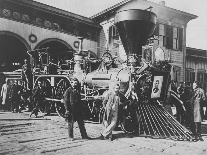 ماجرای عجیب قطار تشییع جنازه آبراهام لینکلن