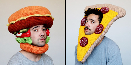 کلاه های خوشمزه