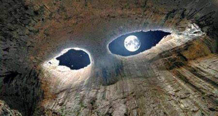 غاری زیبای چشم خدا در بلغازستان
