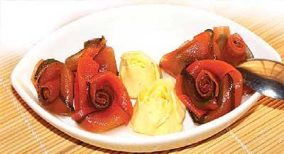 طرز تهیه مربای هویج و خیار
