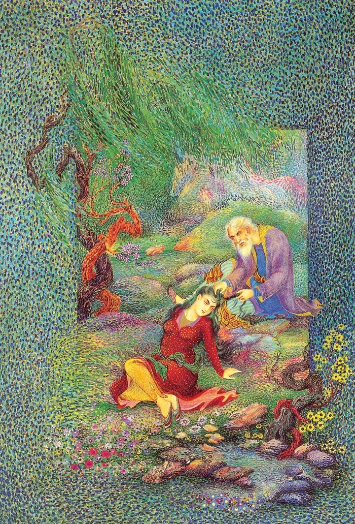 تصاویر هنر مینیاتور هنر بسیار زیبای ایرانی
