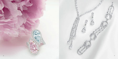 مدل جواهرات و الماس های بسیار زیبا