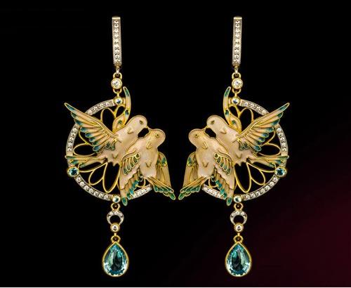عکس هایی از مدل های جواهرات Museum