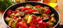 طرز تهیه راتاتوی خوراک سبزيجات فرانسوی