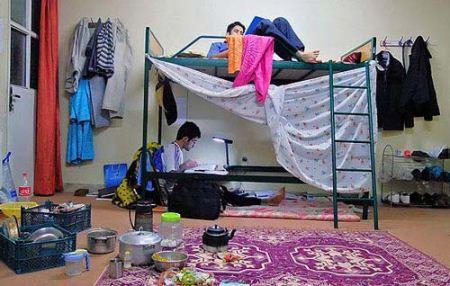 عکس های خنده دار از خوابگاه های پسرانه