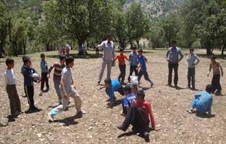 معرفی بازی محلی والیبال کتکی