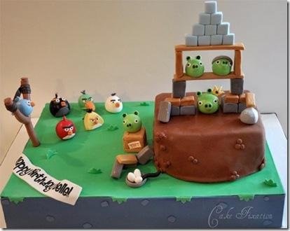 تزیین بسیار جالب کیک