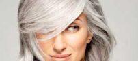 موهای خاکستری را چگونه آرایش کنیم ؟