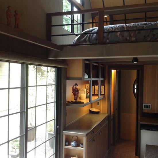 مدل دکوراسیون فوق العاده یک خانه ۵۰ متری