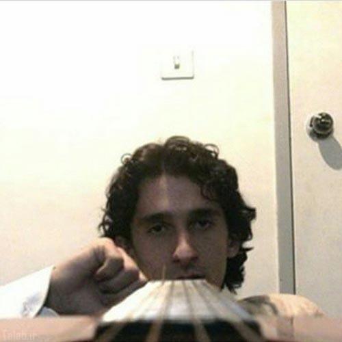 چهره دیدنی مرتضی پاشایی در 10 سال پیش (عکس)