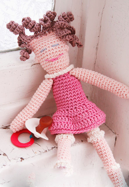 عروسک های بسیار زیبای بافتنی
