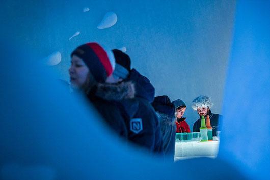 تصاویر دیدنی از هتل یخی شگفت انگیز در سوئد