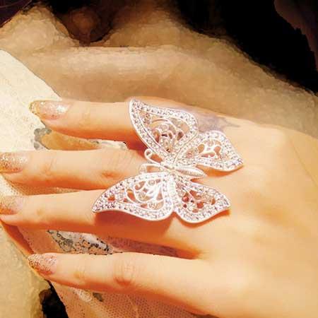 مدل های جدید و زیبای انگشتر فشن دخترانه