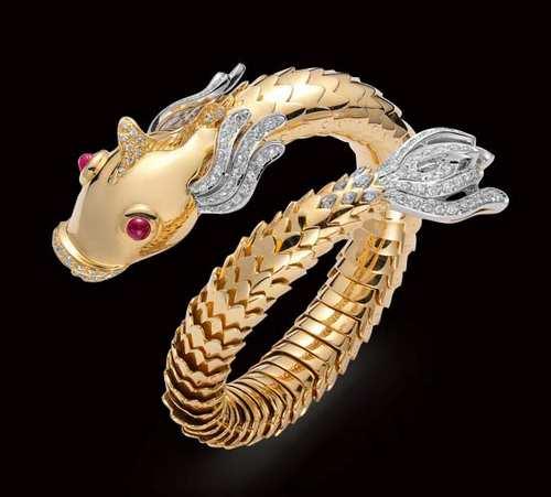 مدل دستبندهای زیبای طلا (3)