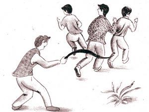 آشنایی با بازی محلی قاب بازي ،بجول (آشيق)