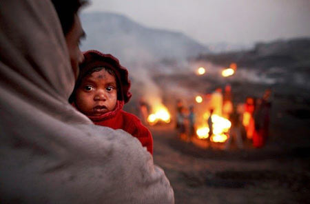 تصاویر جیهاریا معدن شعله ور در هند