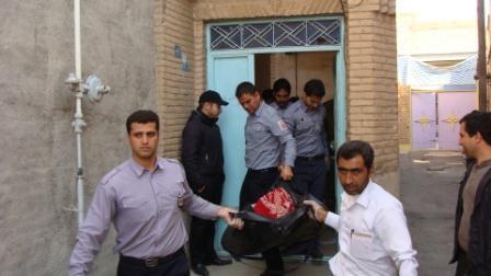 جنازه ای که بعد از یک سال به خاک سپرده شد !+ عکس