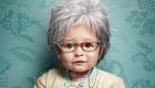 تصاویر بامزه از کودکانی که پیر شدند