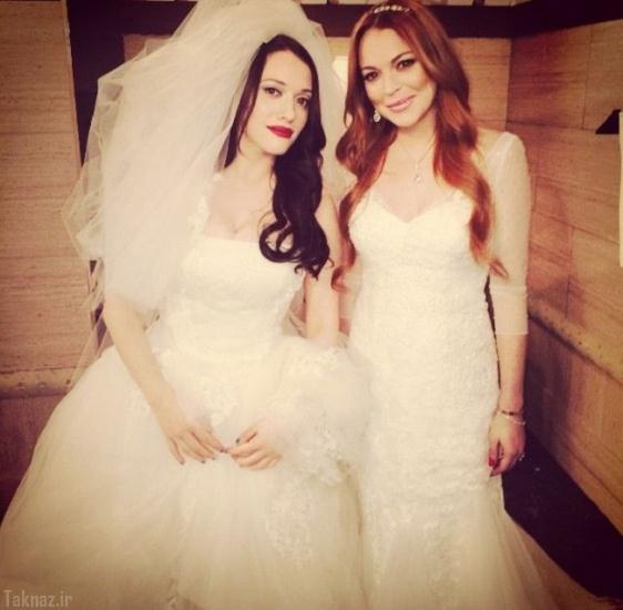 ازدواج جنجالی دو خواننده مشهور هالیوودی + تصاویر