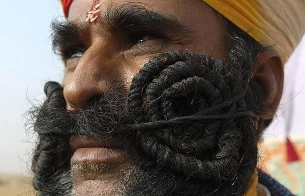 عجیب ترین ریش سیبیل های دنیا