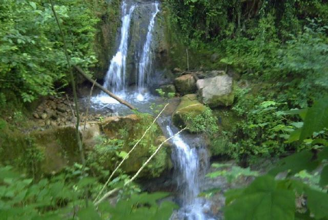 تصاویر آبشار کیمون شهر بهار نارنج (بابل)