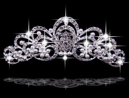 شیک ترین و زیباترین مدل تاج عروس