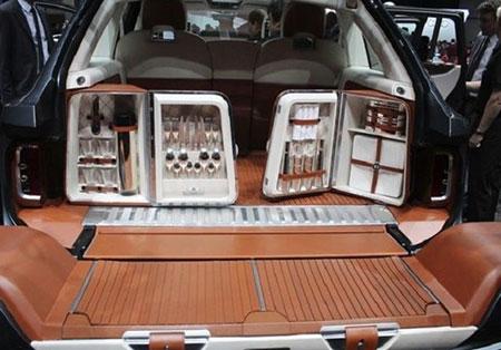 ساخت گران ترین خودروی شاسی بلند (عکس)