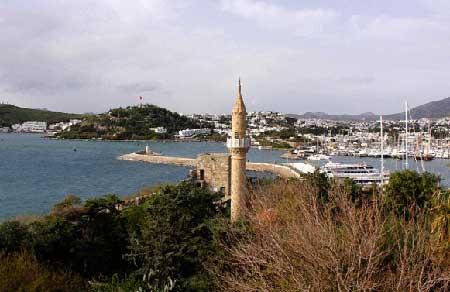 معرفی قلعه بدروم ترکیه + تصاویر