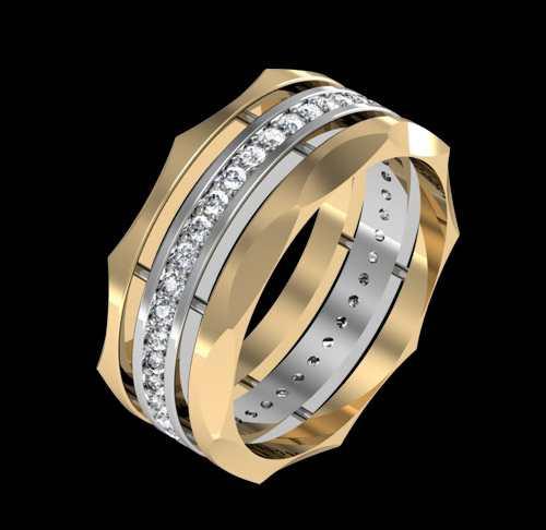 زیباترین مدل های حلقه ازدواج طلا