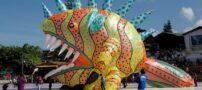 جشنواره بادکنک های قول آسا در کلمبیا
