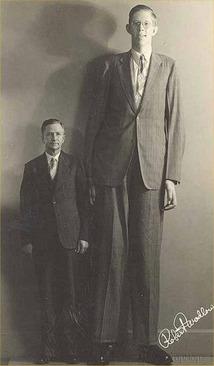 بلند قد ترین مرد تاریخ (+عکس)