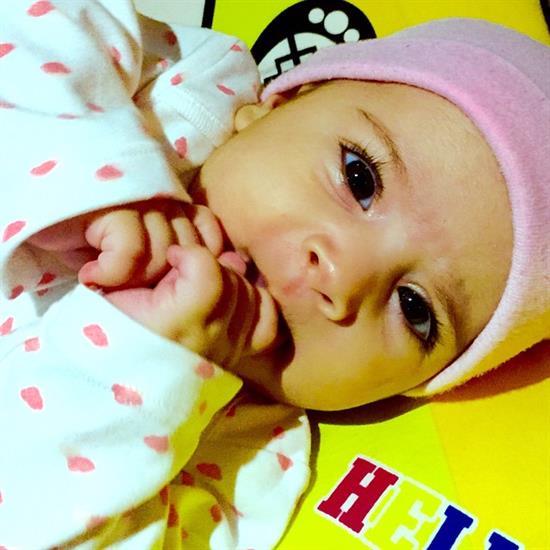 عکس نوزاد زیبای دختر