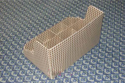 ساخت جعبه لوازم آرایشی با جعبه کارتون بازیافتی