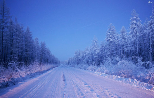 با سرد ترین دهکده کره زمین آشنا شوید !+ تصاویر