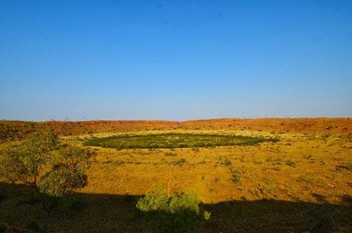 تصاویر دیدنی از محل برخورد یک شهاب سنگ با زمین