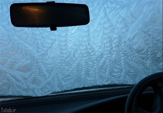 خودرو های یخ زده با طرح های جالب (عکس)