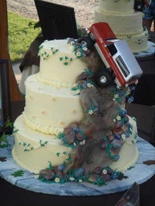 عکس های دیدنی از کیک های تولد و جشن ازدواج