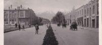عکس خیابان فردوسی تهران، سال 1310