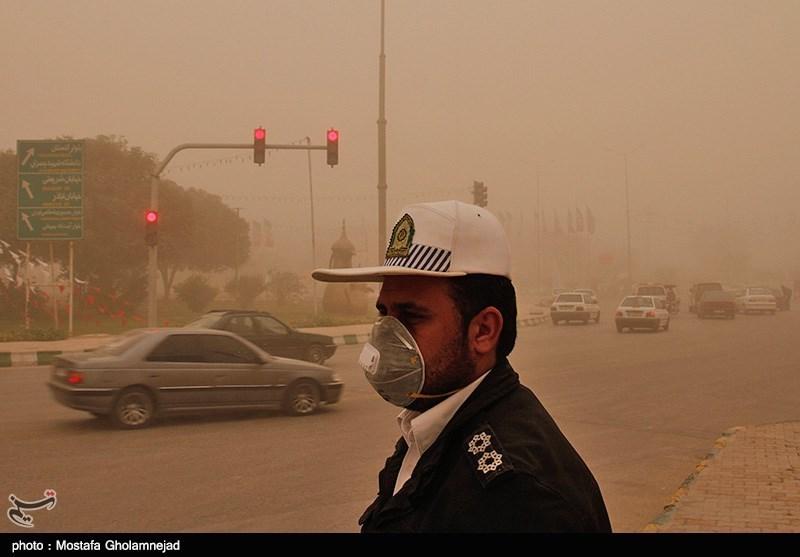 اهواز آلوده ترین شهر ایران !+ تصاویر