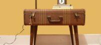 طراحی دکوراسیون با چمدان