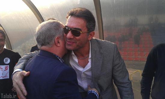 عکس دیدنی عابدزاده و پروین در آغوش یکدیگر