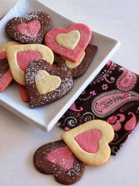 آموزش طرز تهیه شیرینی های قلبی