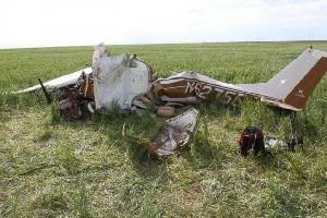 سقوط هواپیما به علت عکس سلفی