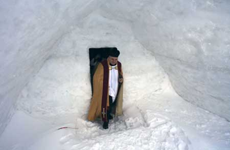 عکس های دیدنی از کلیسای یخی