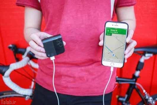 شارژ تلفن همراه خود را از دوچرخه تامین کنید