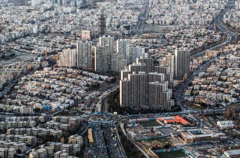 عکس+تهران+از+نمای+بالا